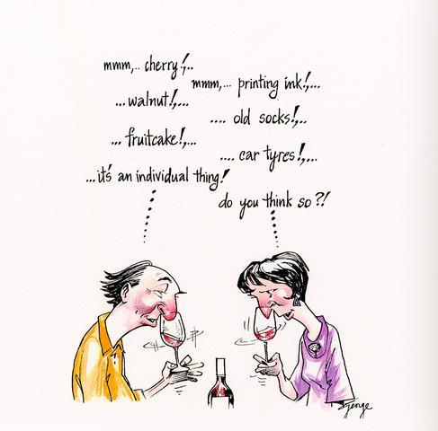 Wijn cartoon 1